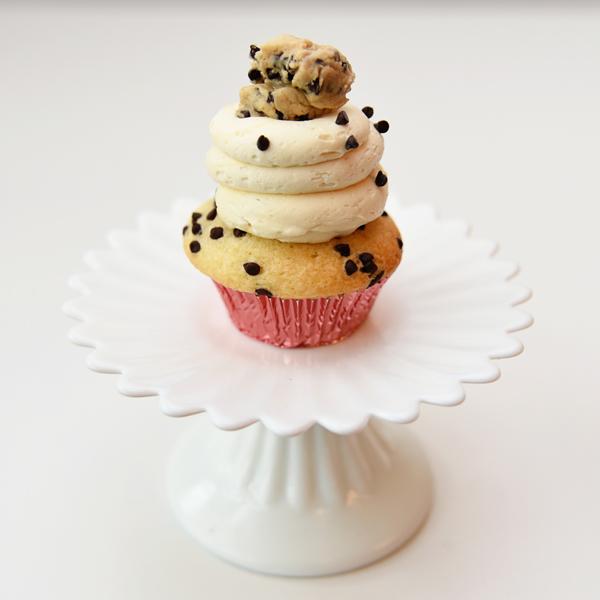 Cookie Dough Brownie Cake Vegan